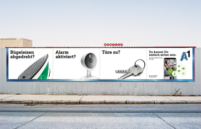 A1 Smart Home Werbekampagne
