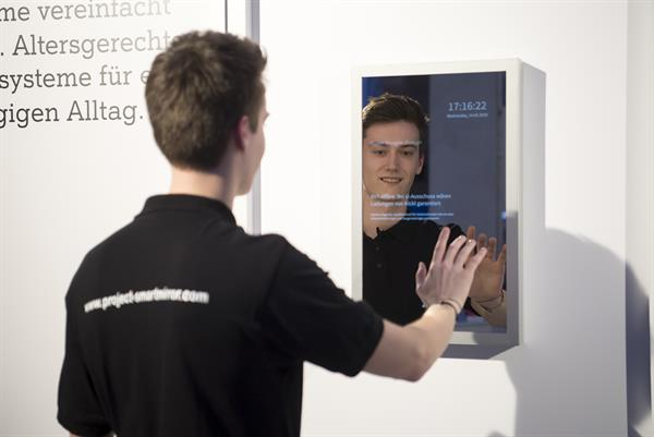 Smart Mirror der HTL Rennweg