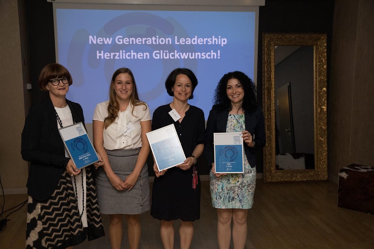 A1 gewinnt trendence Employer Branding Award in der Kategorie New Generation Leadership